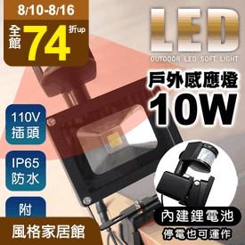 戶外防水LED感應燈