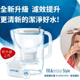 BRITA Style純淨濾水壺