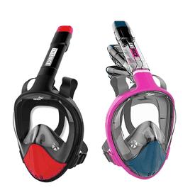 全罩式浮潛呼吸面罩