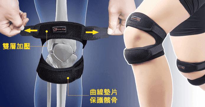 運動護膝減壓髕骨帶