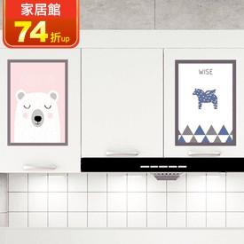 卡通靜電裝飾壁貼