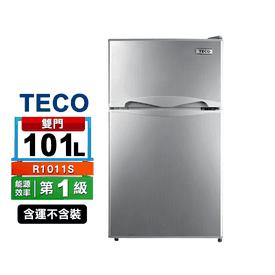 東元100L一級雙門小冰箱