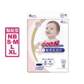 日本大王敏感肌黏貼尿布