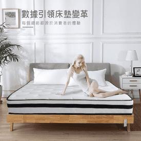 加厚乳膠獨立筒超級床墊
