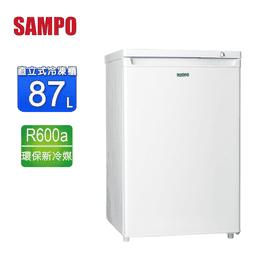聲寶87L直立式冷凍櫃