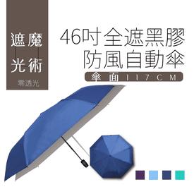 46吋全遮光抗UV自動傘
