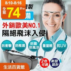 MIT強化防疫安全護目鏡