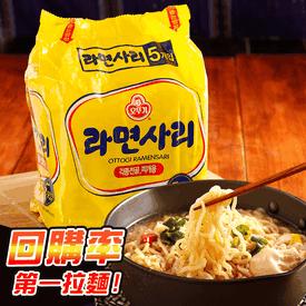 韓國오뚜기不倒翁純麵條