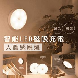 智能LED磁吸人體感應燈