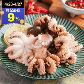 台灣本島現撈急凍小章魚
