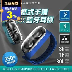 REMAX無線藍芽手環耳機