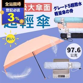 超輕量碳纖維雨傘