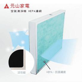 元山空氣清淨機HEPA濾網